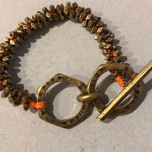 Orange Diesel bracelet